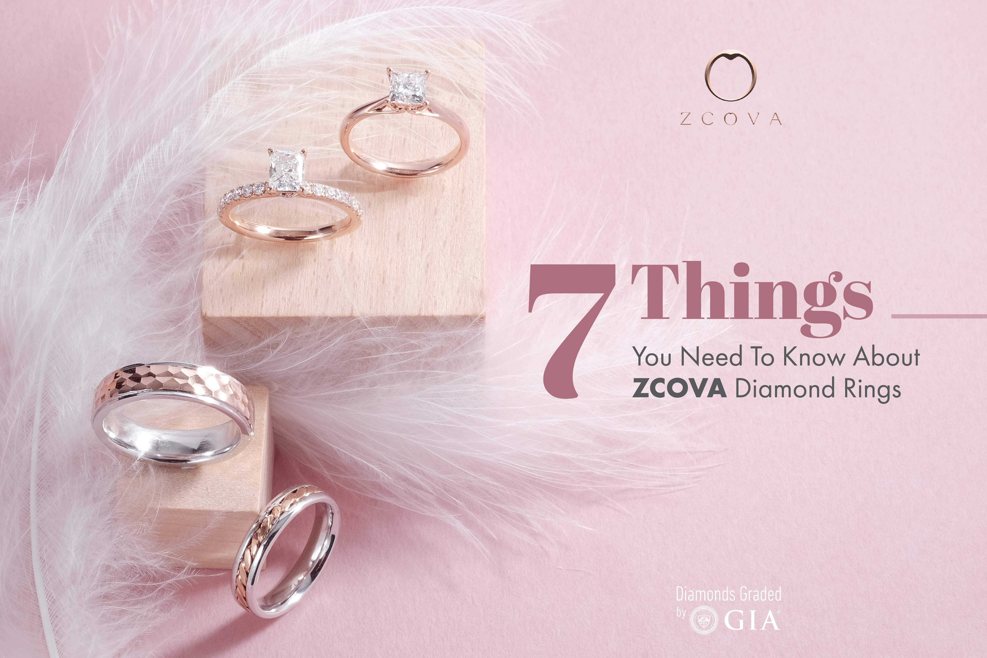 ZCOVA Diamond Rings