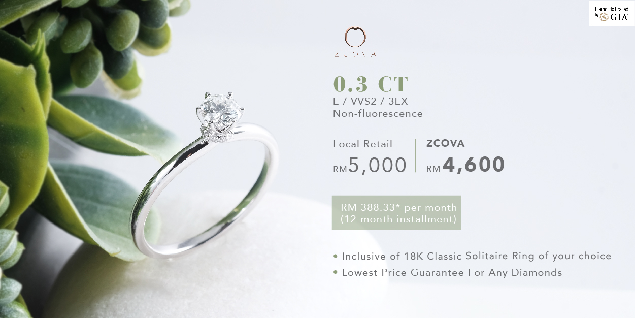 0.3ct Engagement Ring promotion