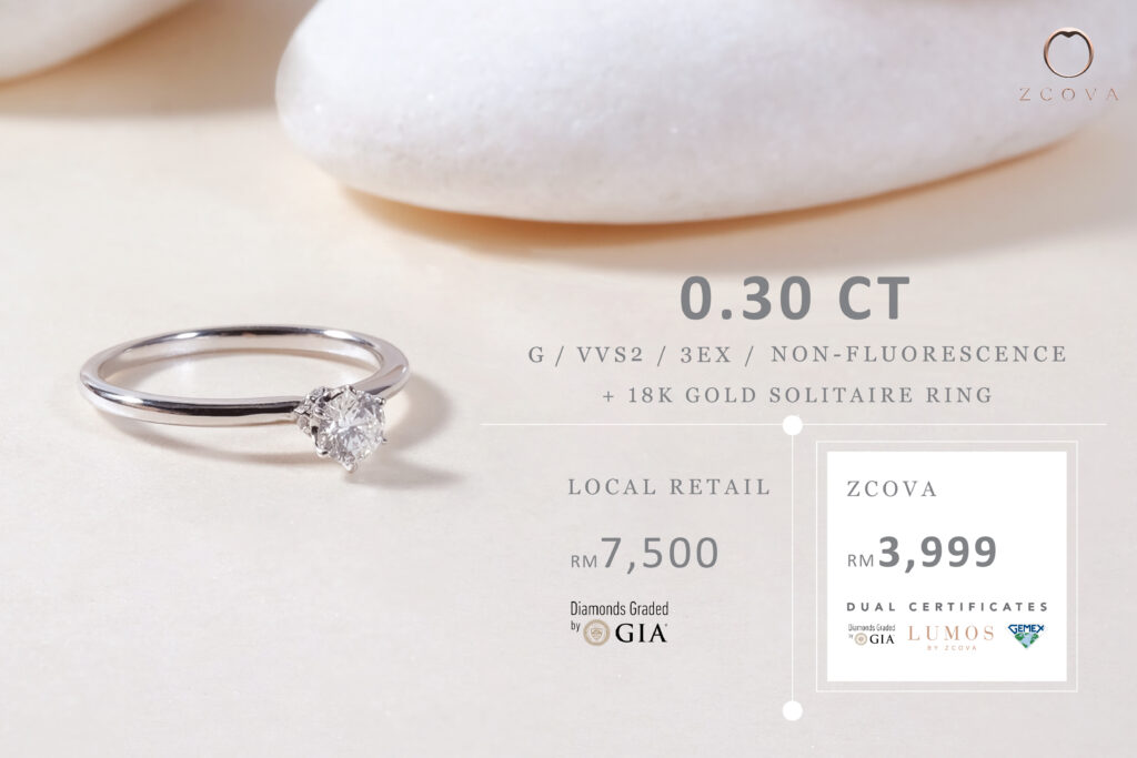 0.3ct engagement ring promotion malaysia