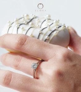 ZCOVA 0.4CT Diamond Ring Promotion