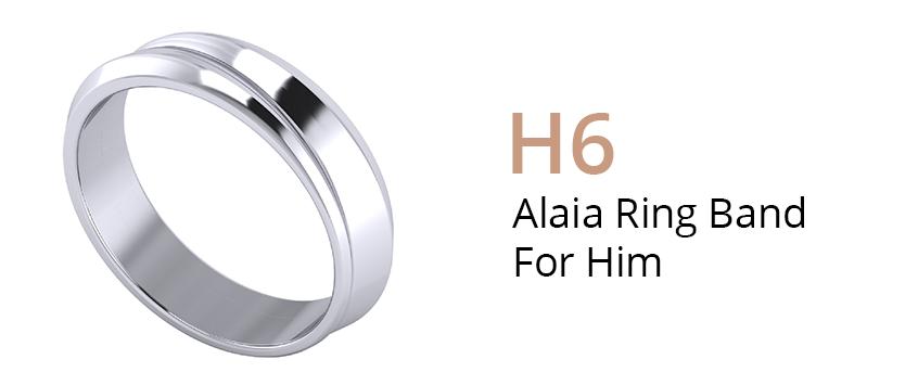 ZCOVA Alaia Ring Band For Him_Wedding Band