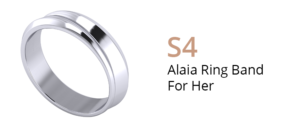 ZCOVA Alaia Ring Band For Her_Wedding Band