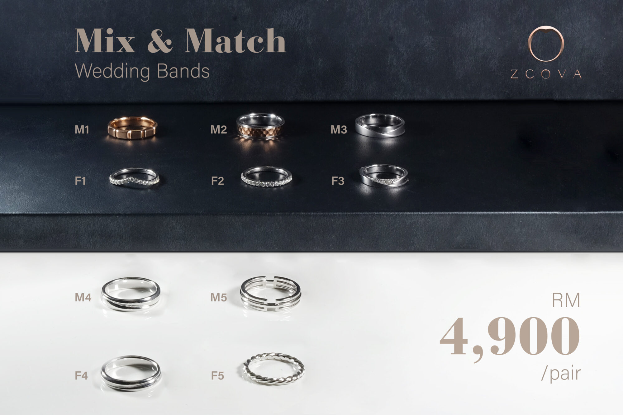 Wedding Band Promotion Malaysia (Mix & Match)