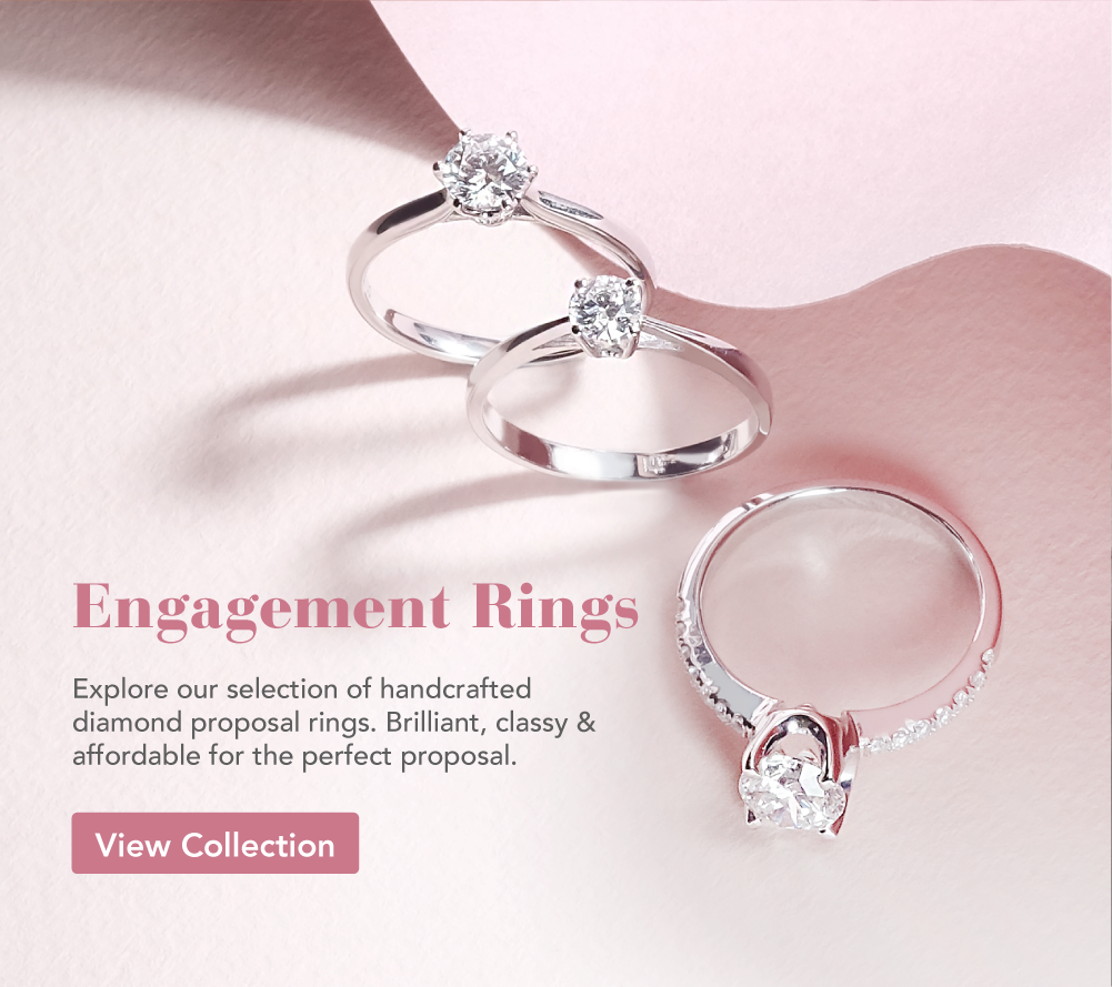 Diamond engagement rings ZCOVA Singapore