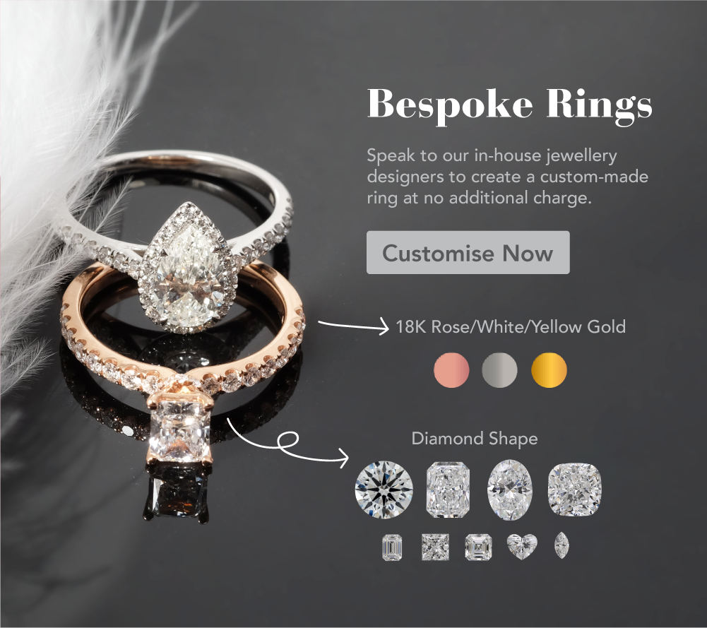 Bespoke custom made rings ZCOVA Singapore