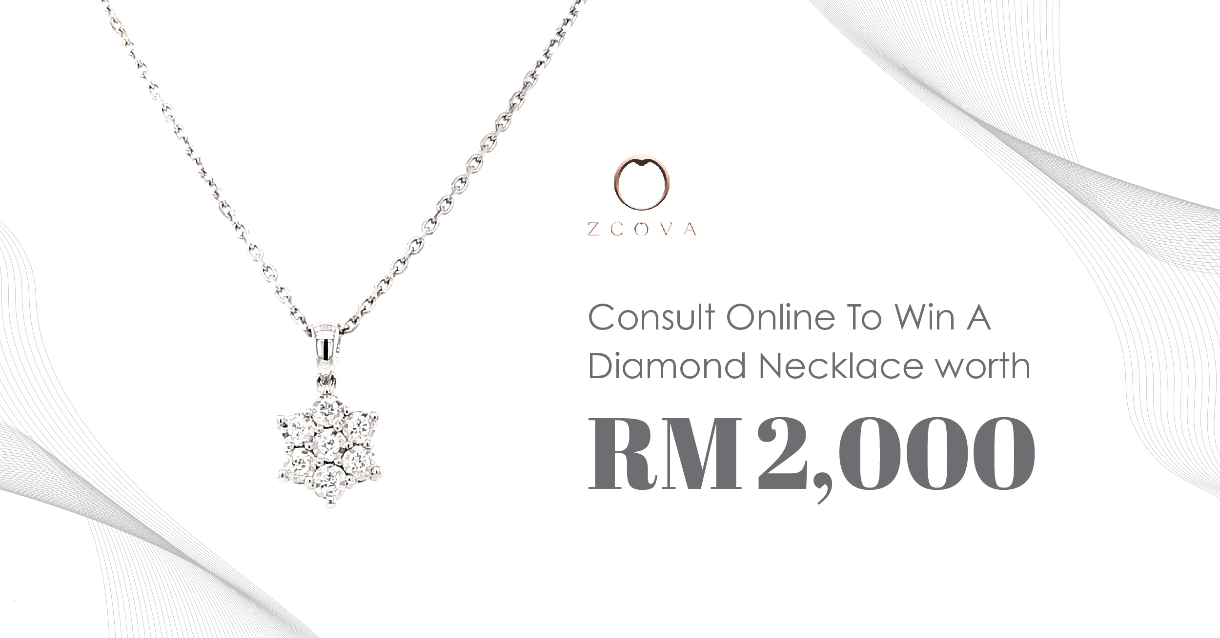 Consult Online & Win A Diamond Necklace worth RM 2,000