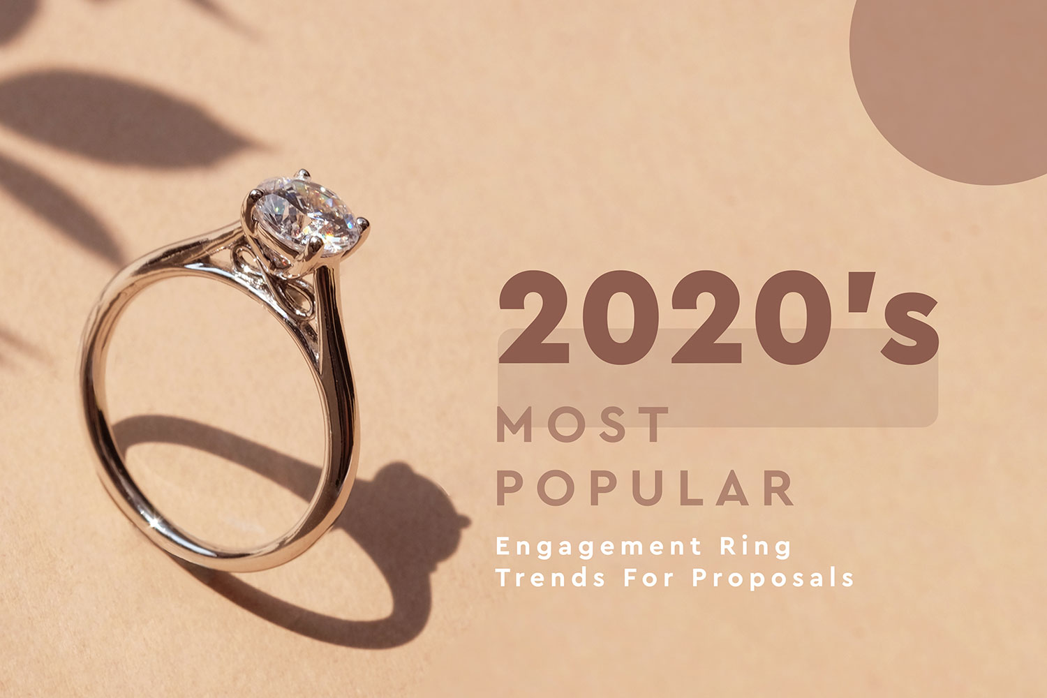 2020's Most Popular Engagement Ring