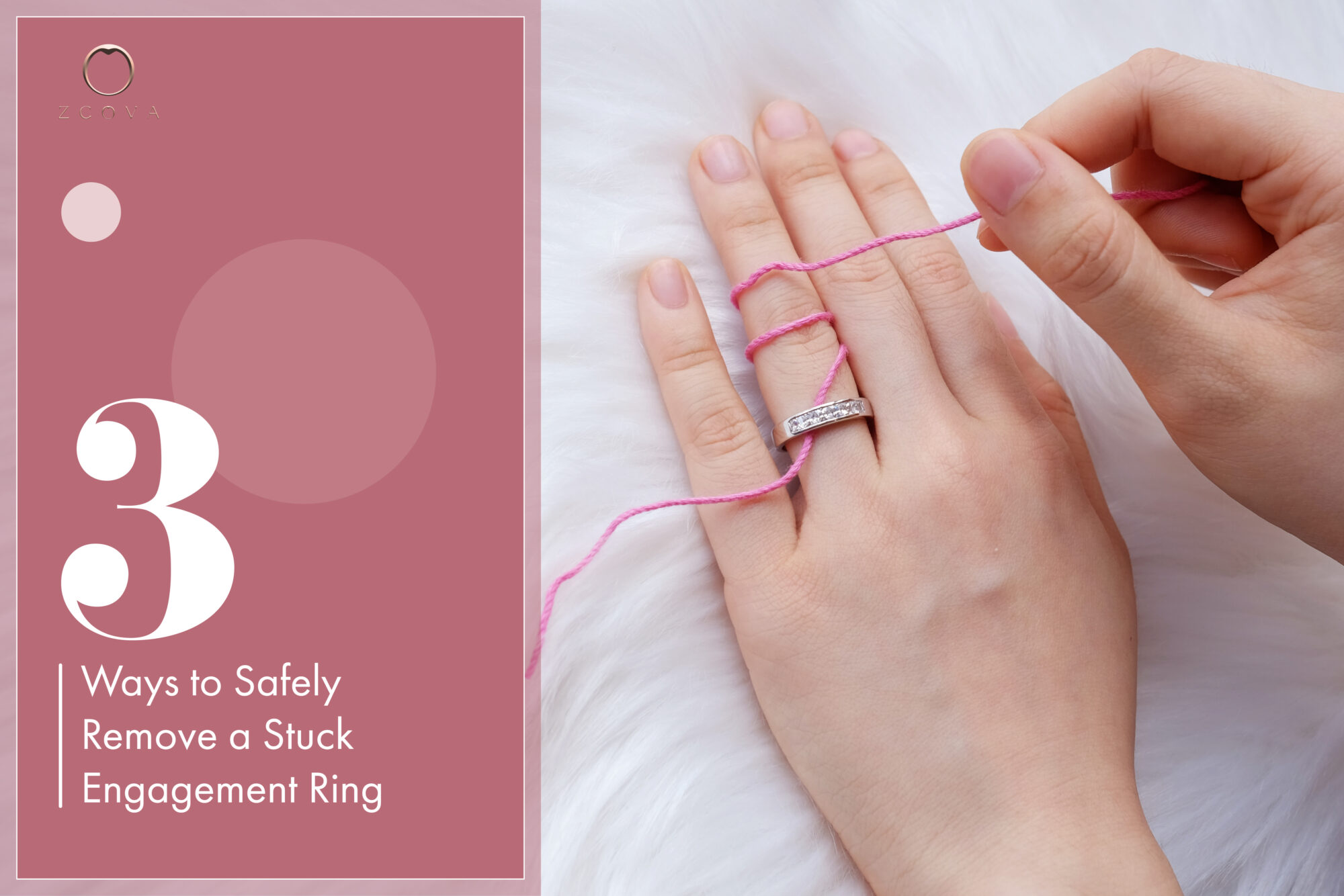 3 ways to safely remove a stuck engagement ring