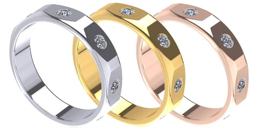 ZCOVA Giro Mens ring