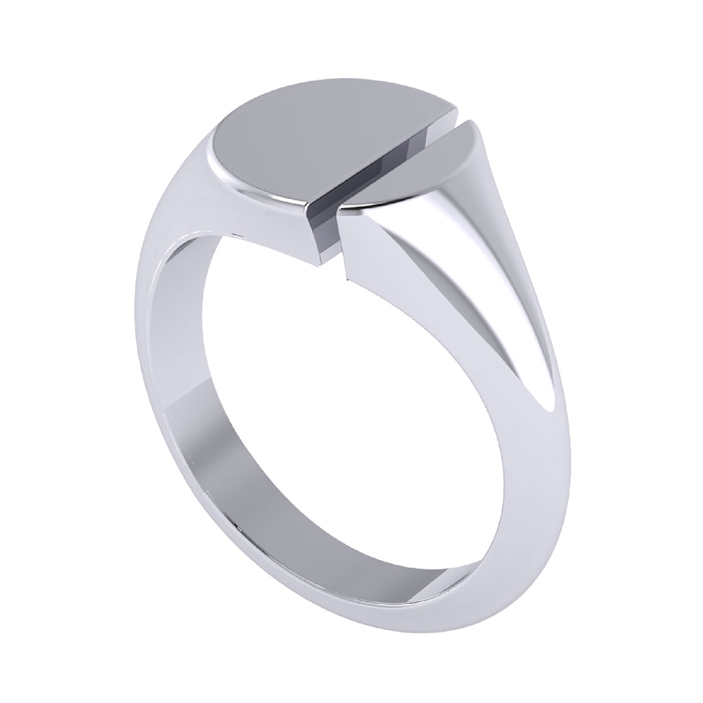 ZCOVA Rift signet ring mens ring jewellery