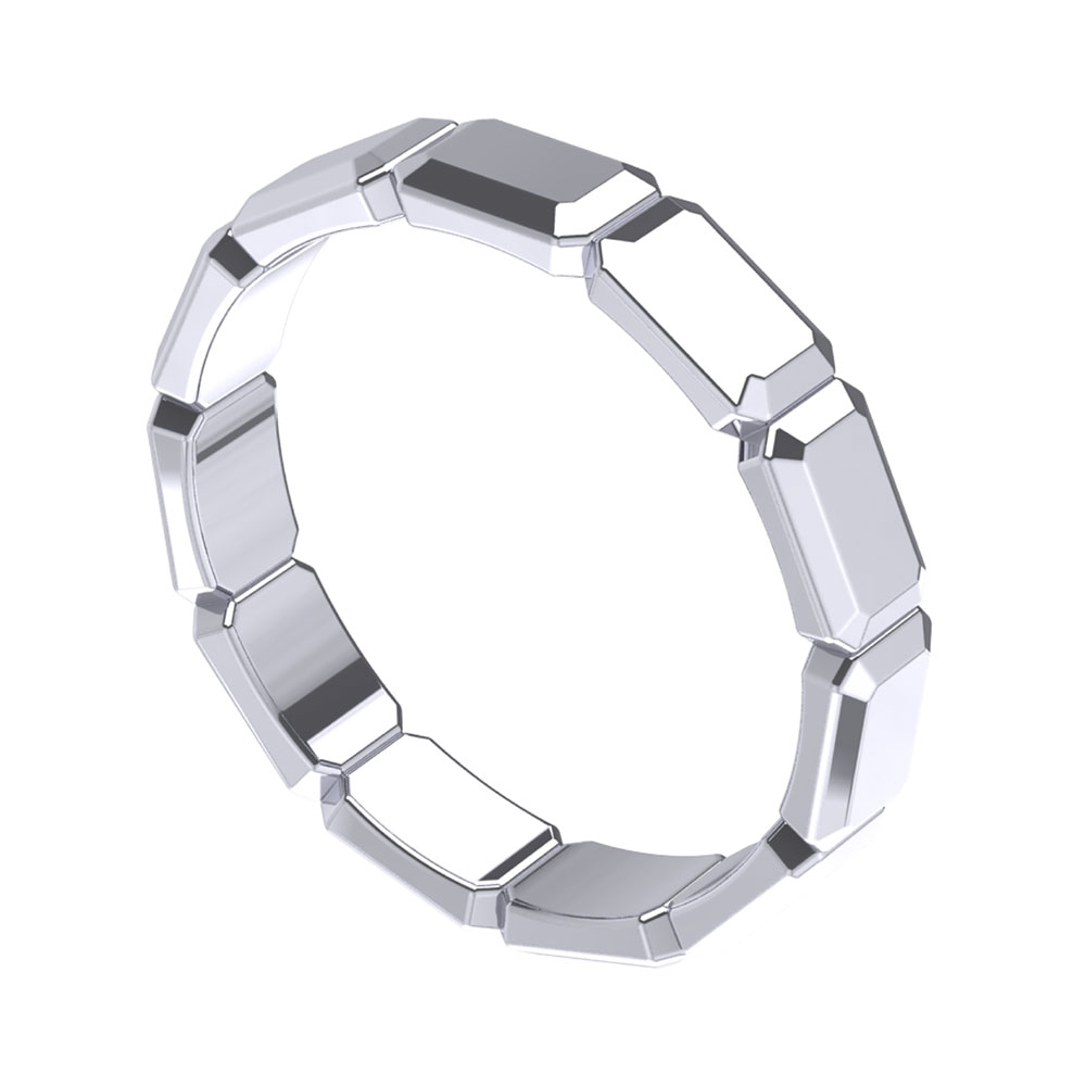 ZCOVA Salvio Band Mens Ring Jewellery