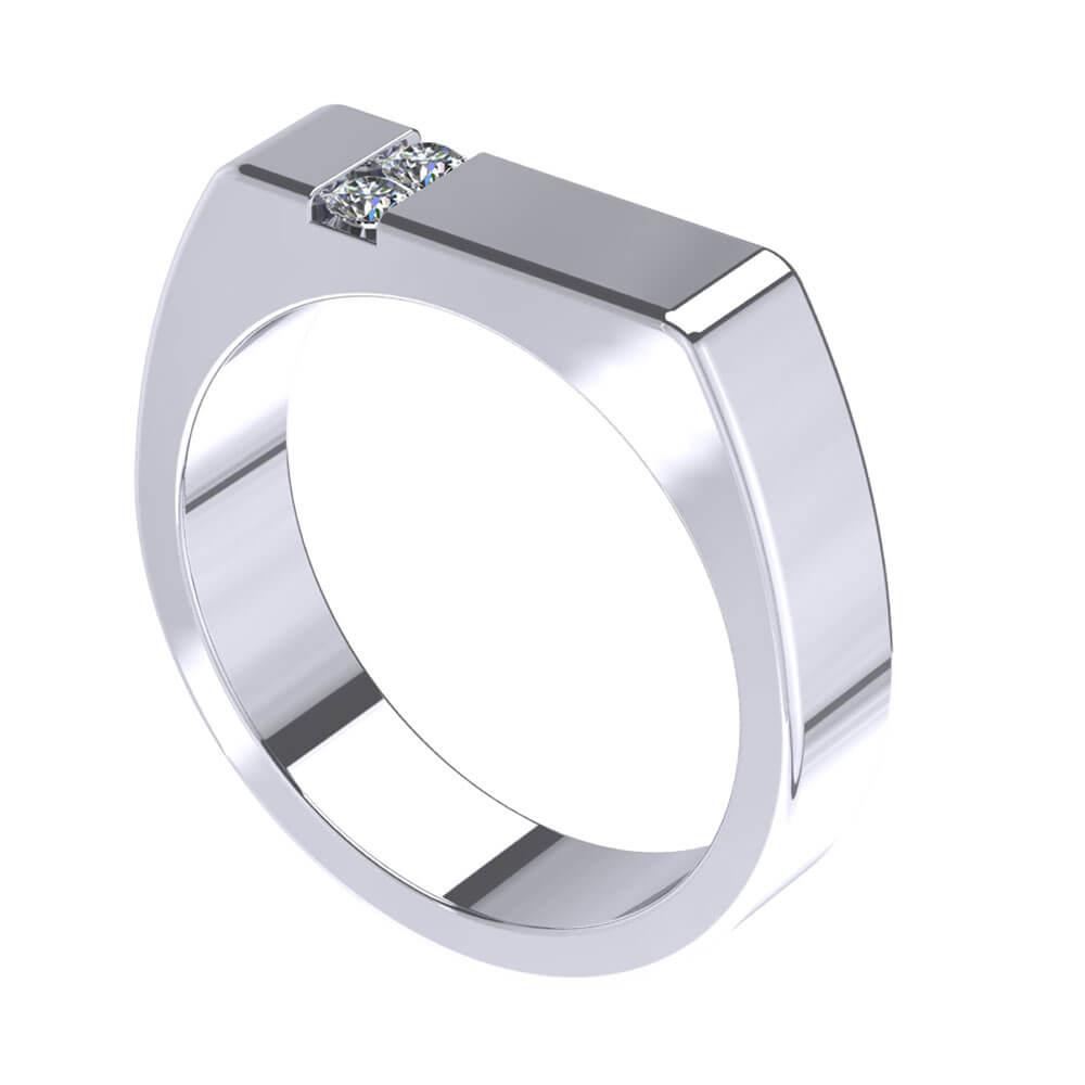 ZCOVA Vito Band Mens Ring Jewellery