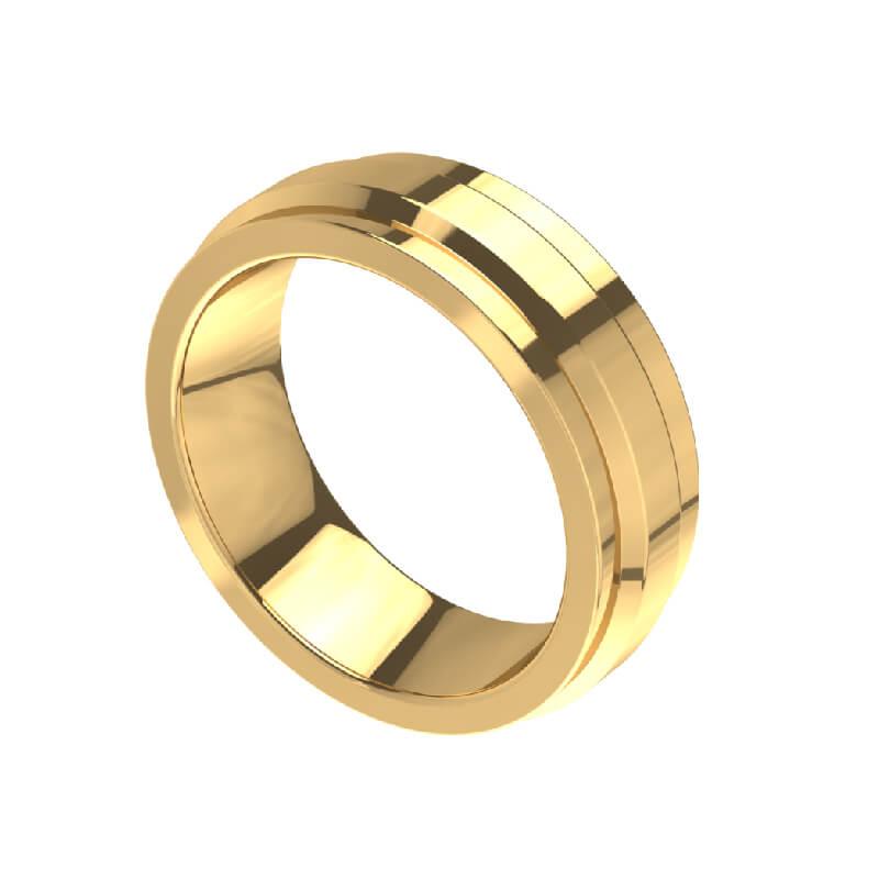 Dante Band Fashion Ring Design for Men