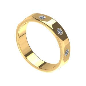 Giro Band Fashion Ring for Men