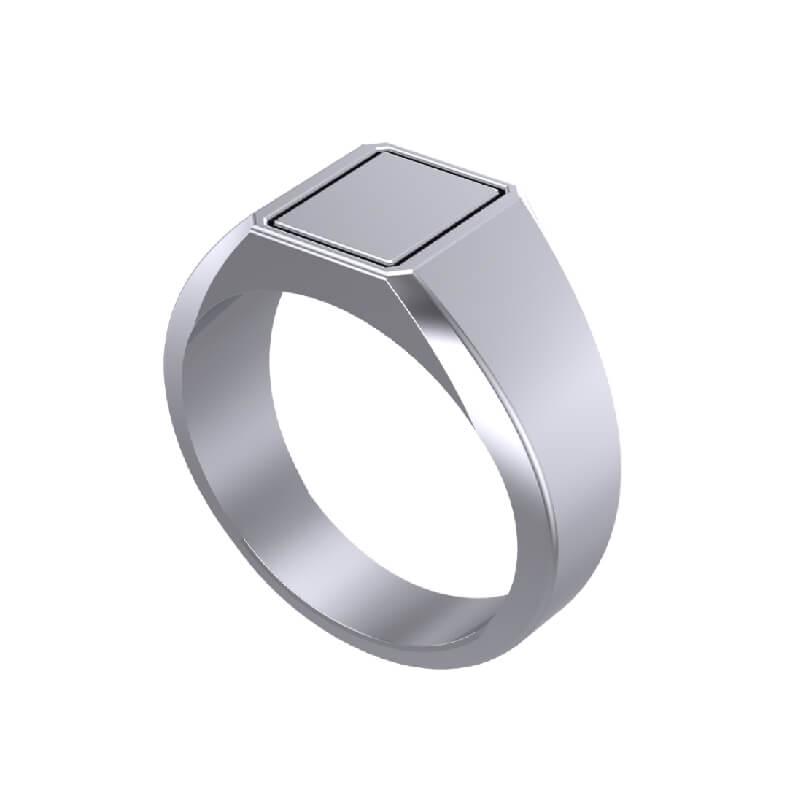 Lancelot Signet Ring for Men