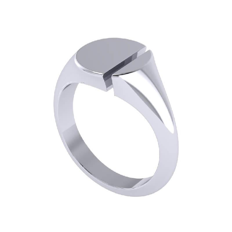 Riff Signet Fashion Ring for Men