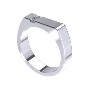 Vito Band Fashion Ring Design For Men