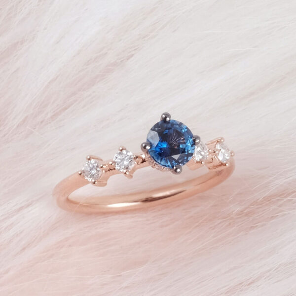 Buy Sapphire Engagement Ring in Malaysia