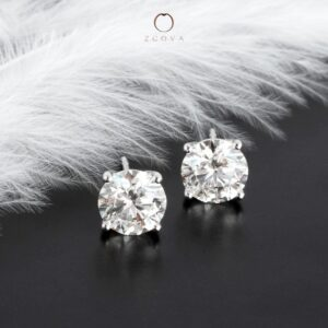 ZCOVA Diamond Earrings