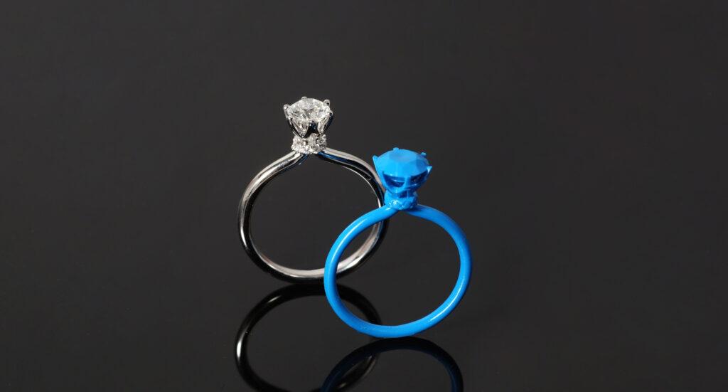 Engagement Ring Design 3D Printing