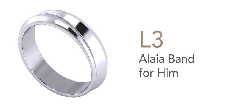 Cincin Tunang dan Nikah-Alaia Band for Him