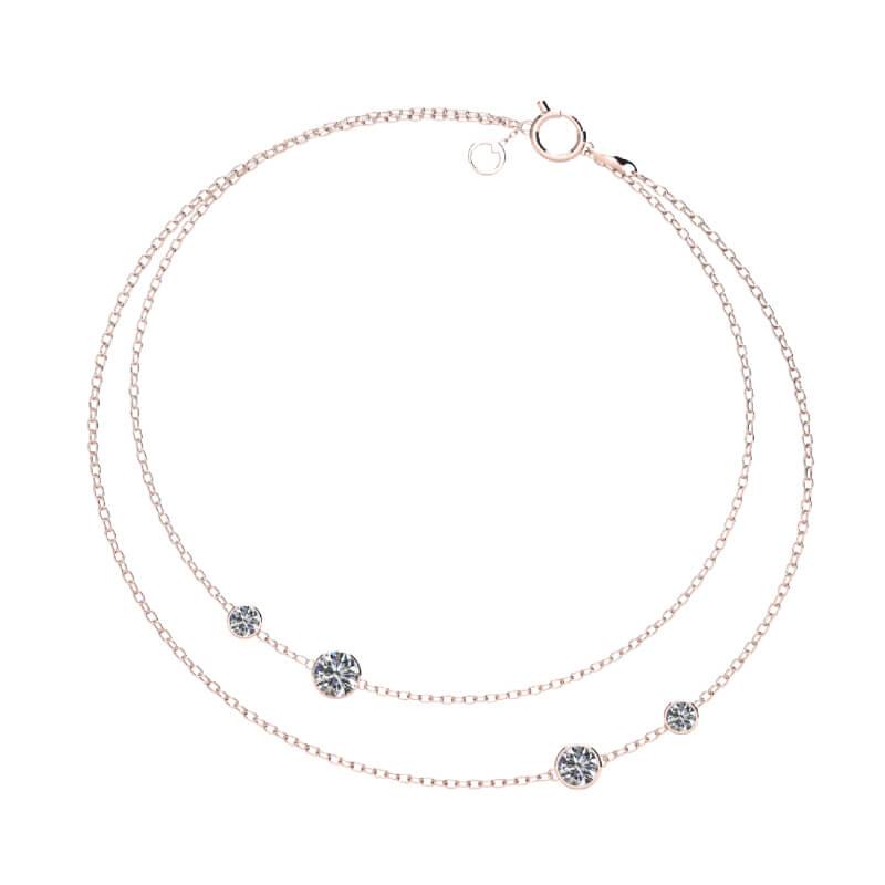 Lumi Duo Bracelet Rose Gold present gifting