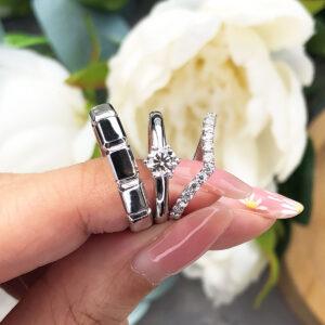 Pakej Cincin Nikah dan Tunang Emas ZCOVA