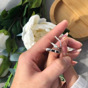 Set Cincin Tunang dan Nikah Kahwin ZCOVA