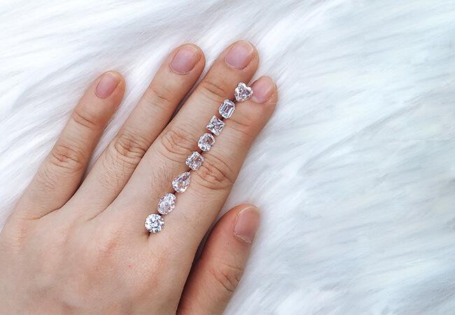ZCOVA diamond shapes