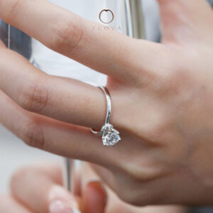 Lia Solitaire Engagement Ring