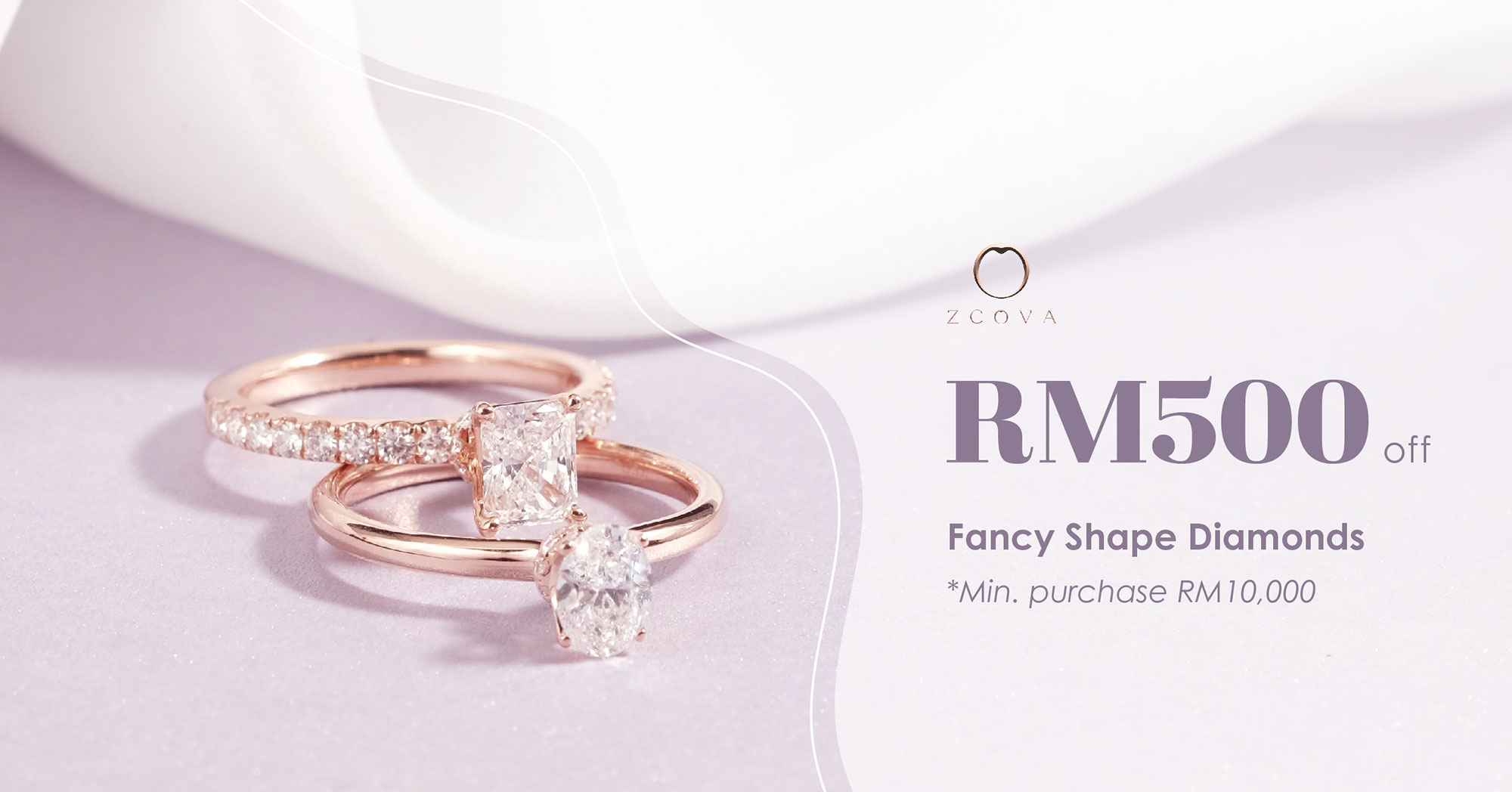 Fancy Shape Diamond Ring Promotion Malaysia