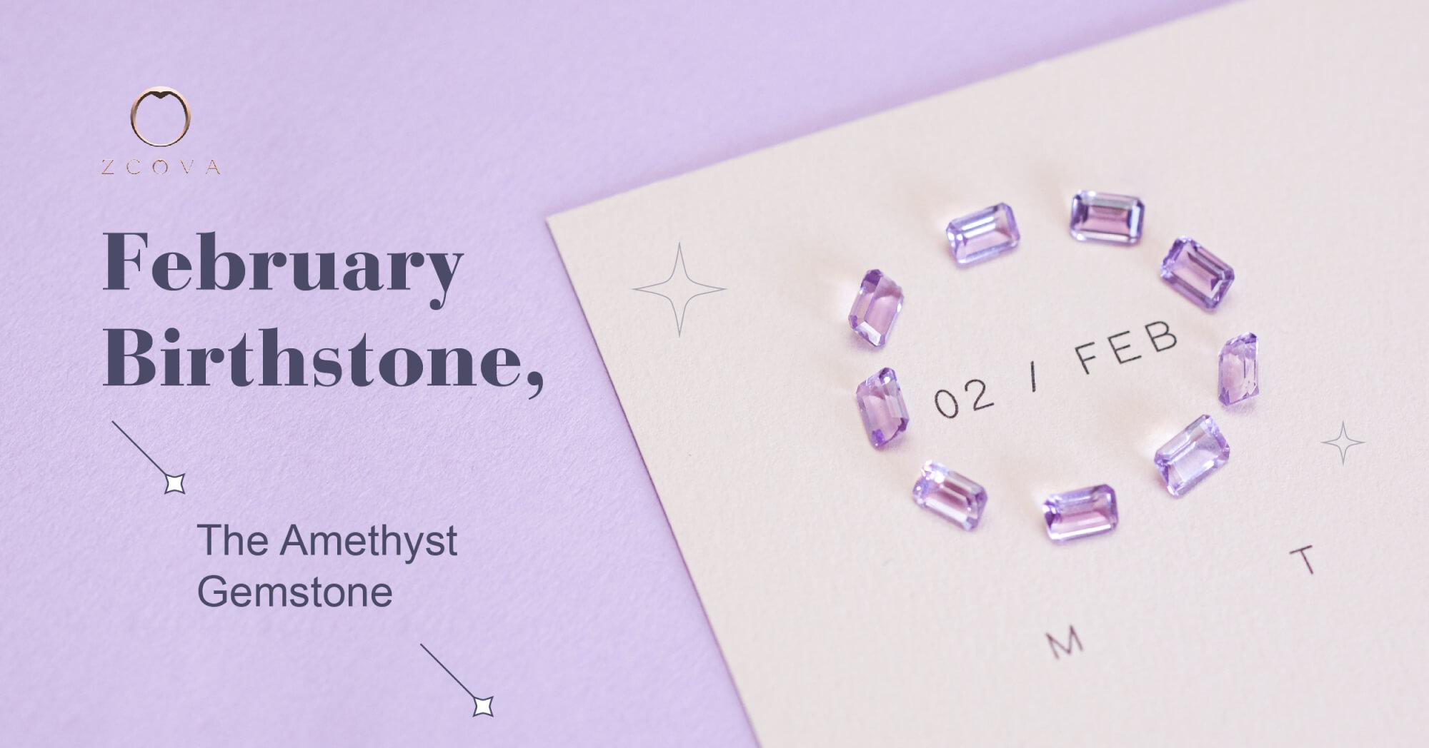 Purple Amethyst Gemstone February Birthstone Buy Online Malaysia