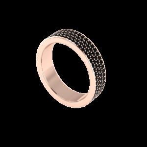 Full Pave Black Diamond Mens Ring Buy Online Malaysia