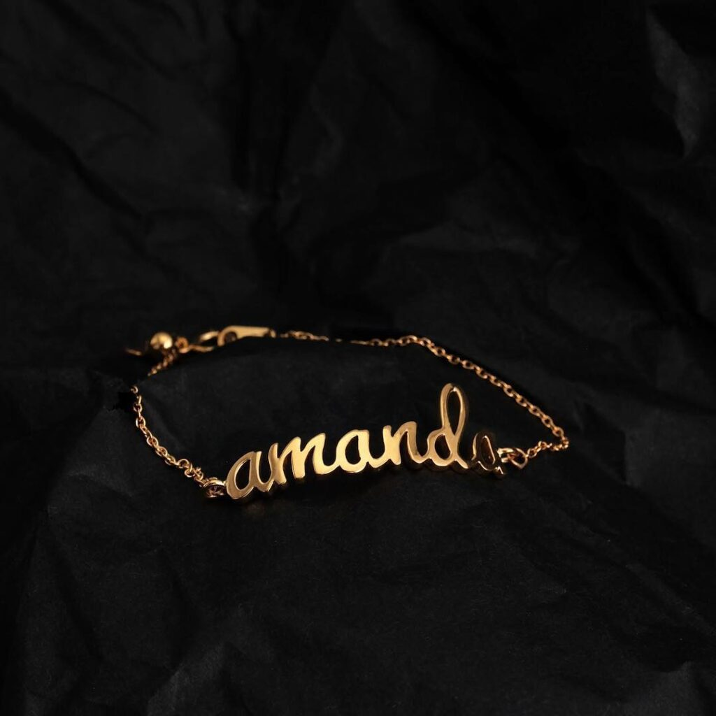 Nama necklace emas zcova