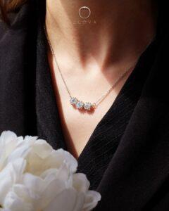 rantai leher emas berlian bersijil GIA ZCOVA