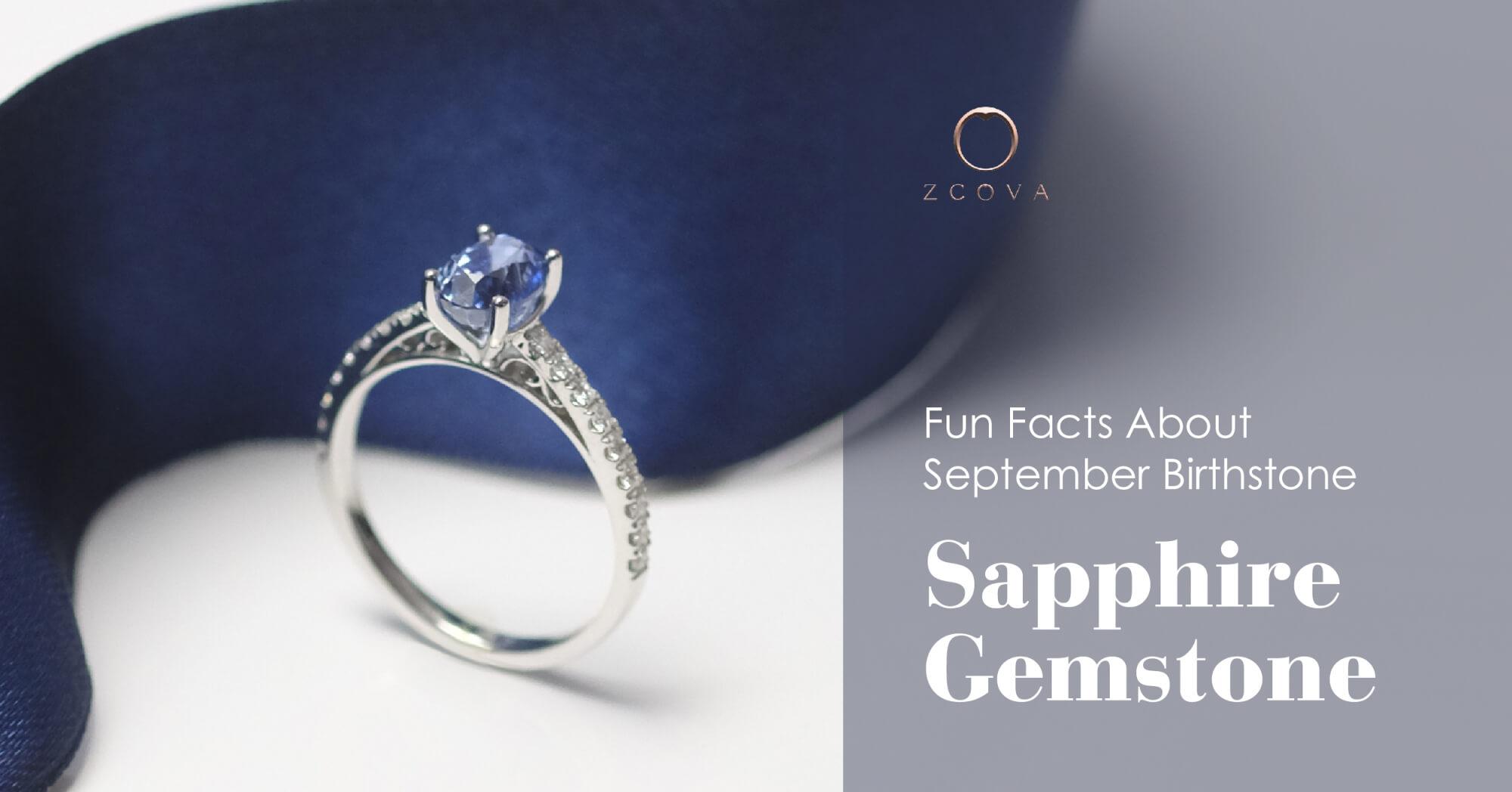 September birthstone Sapphire gemstone facts