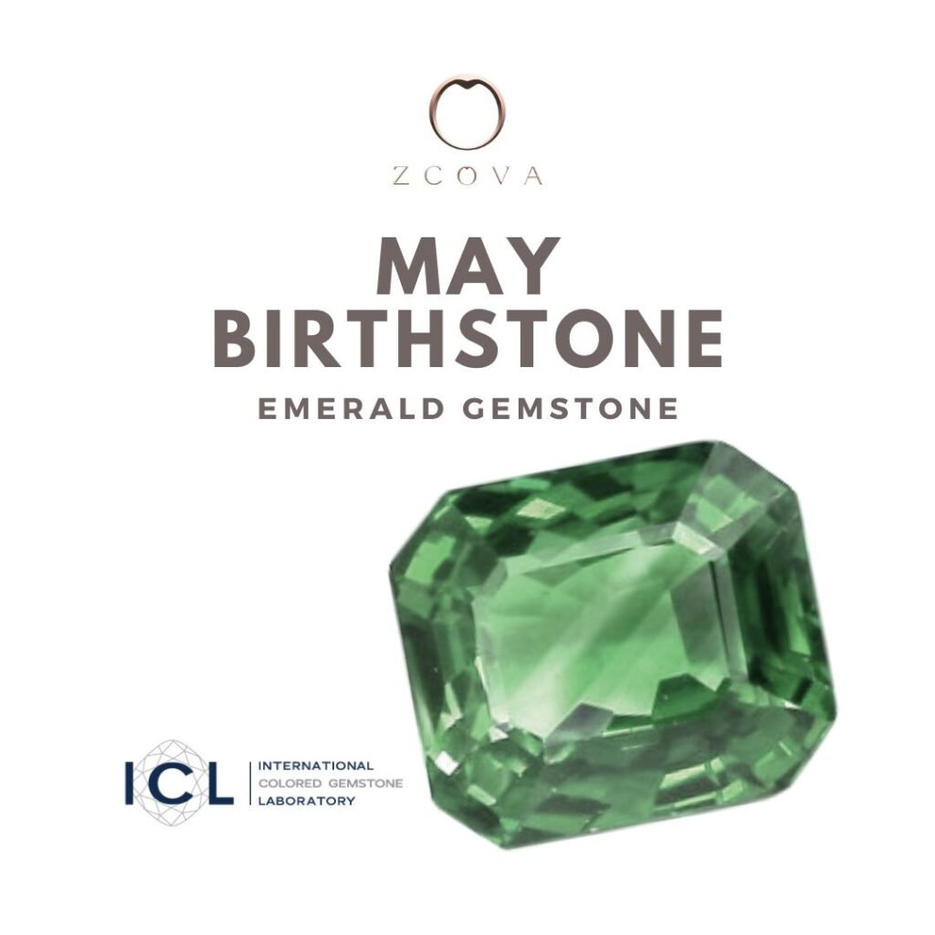 May Birthstone Emerald Gemstone