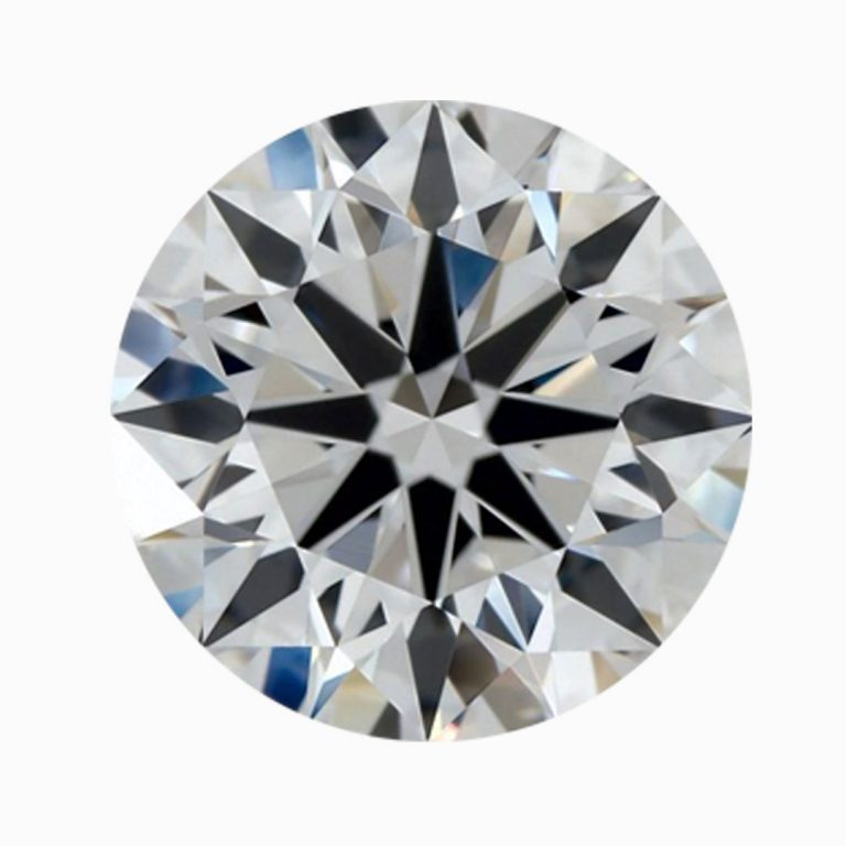 ZCOVA Triple Excellent Round Diamond With Heart And Arrows