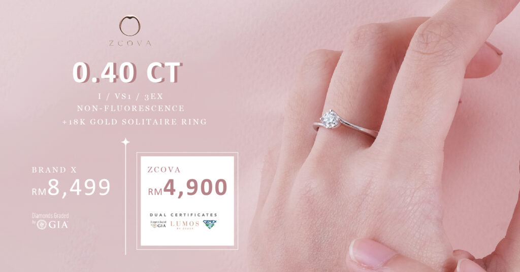 Johor Bahru Diamond Engagement Ring Promotion