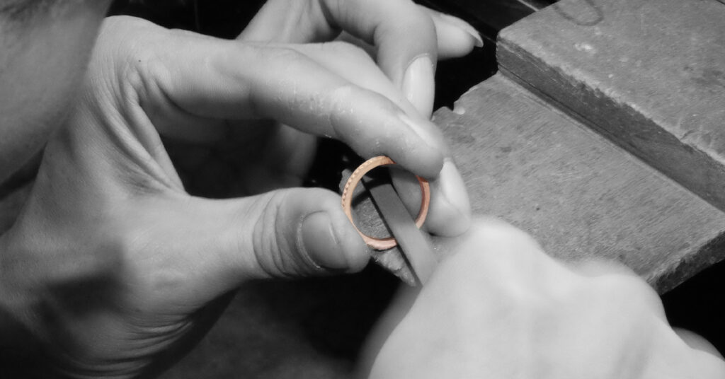 Over 40 years of jewellery crafting experience