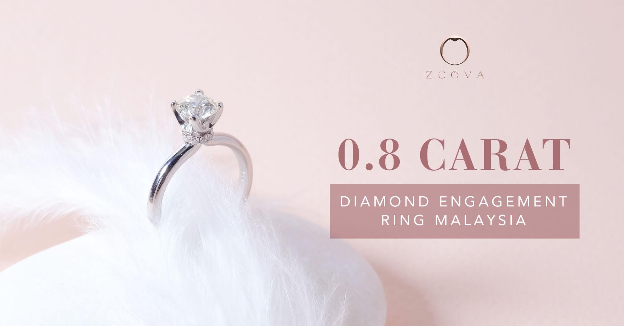 0.8CT Diamond Engagement Ring