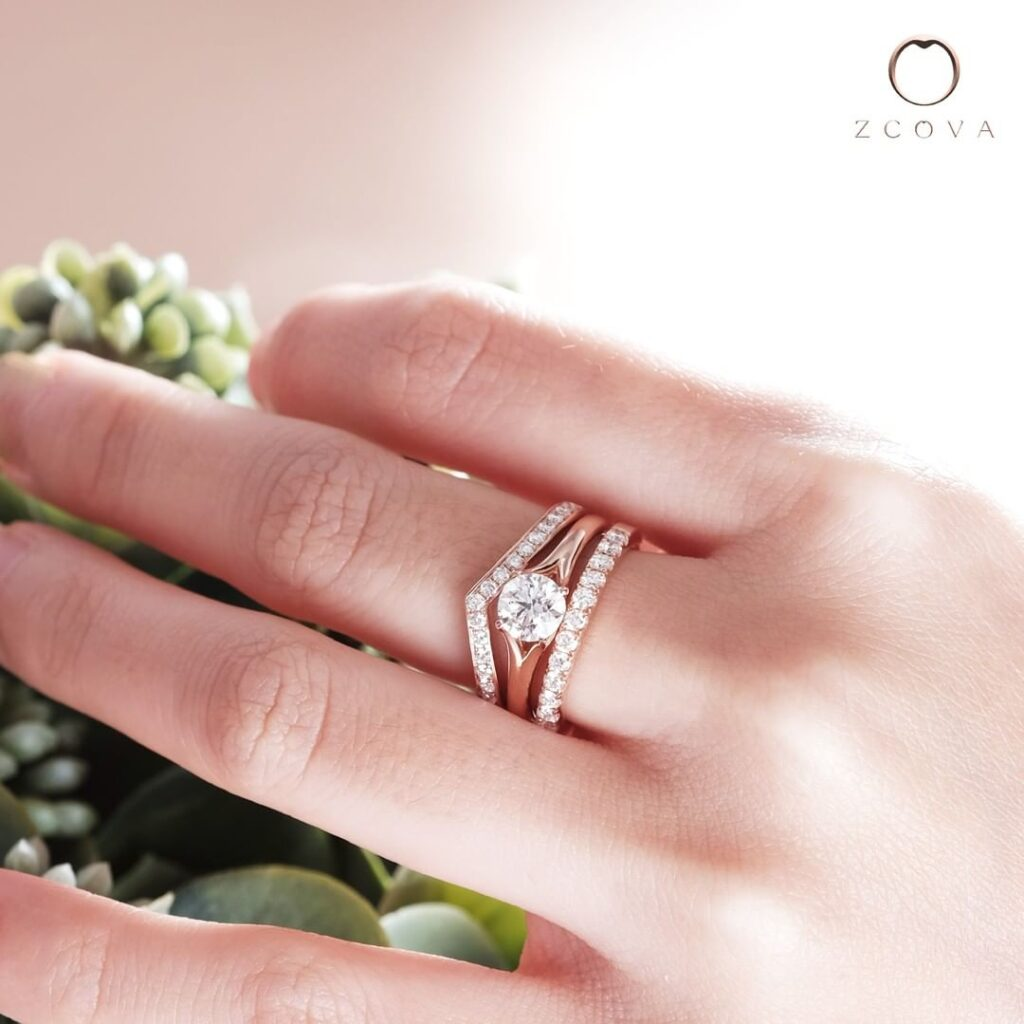0.6CT Round Solitaire Engagement Ring