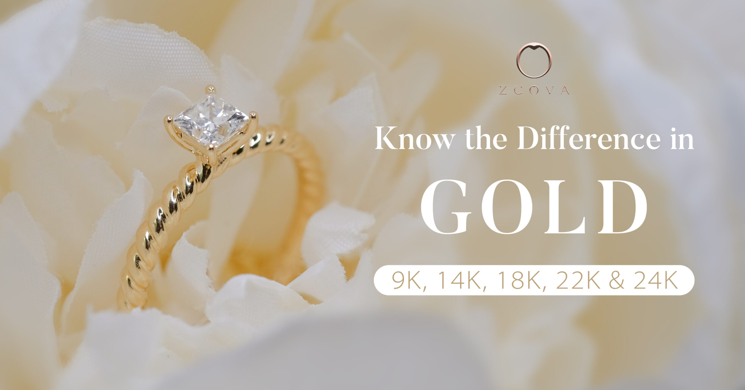 Know the difference in gold, 9K, 14K, 18K, 22K, 24K