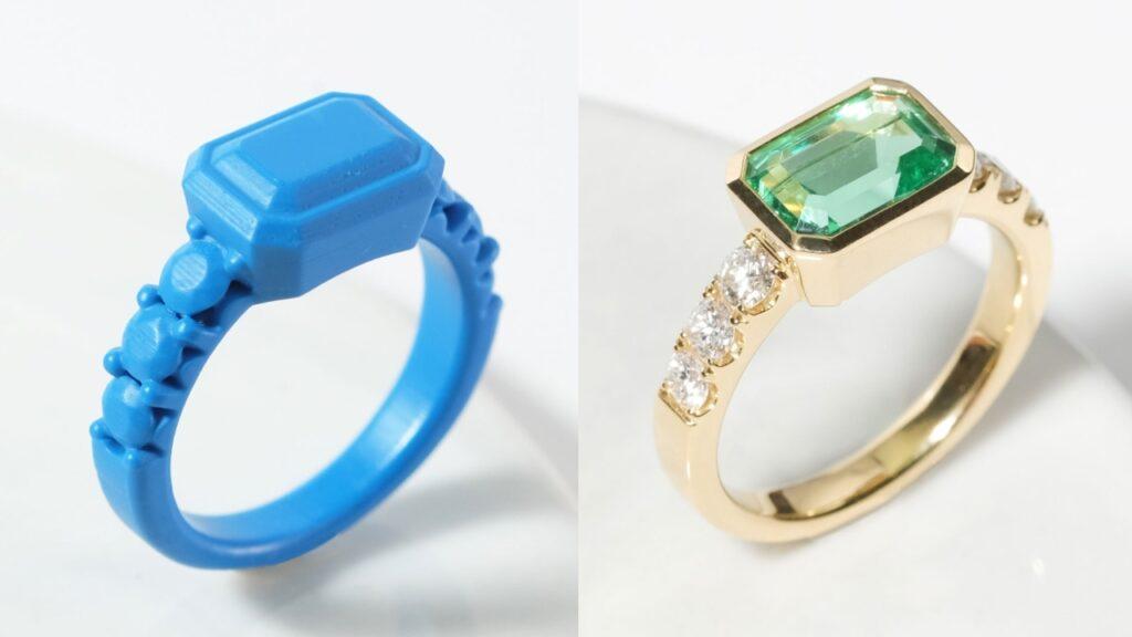 customise ring 3D print ring
