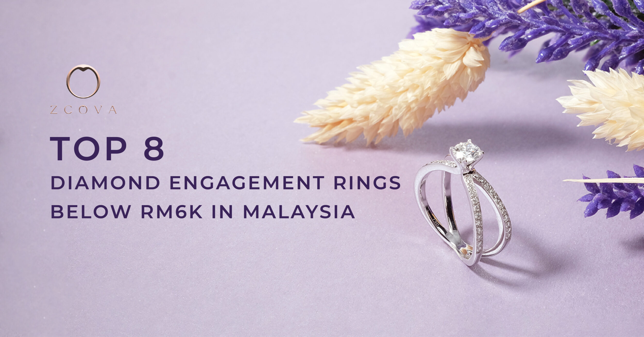 top 8 diamond engagement ring below RM6k in malaysia