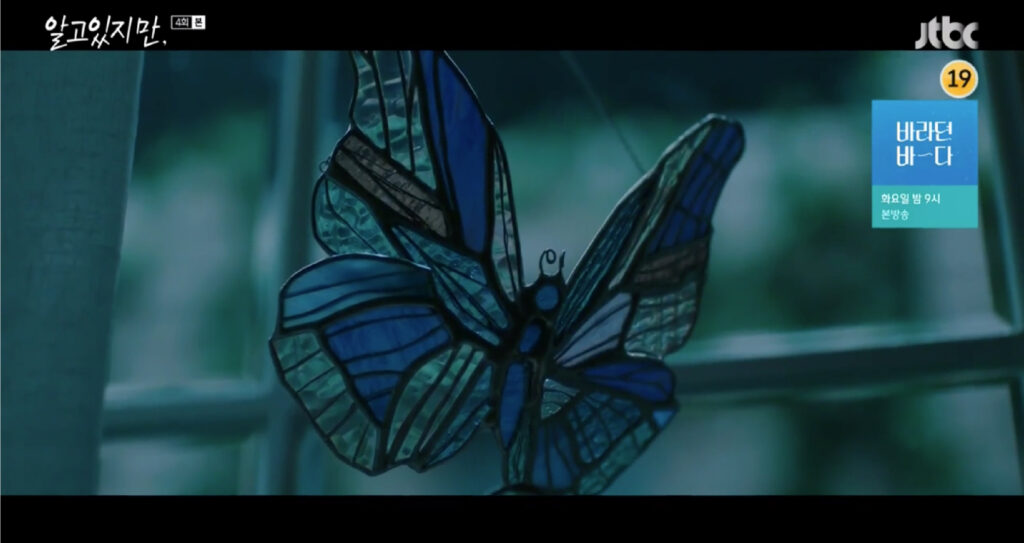butterfly from nevertheless kdrama
