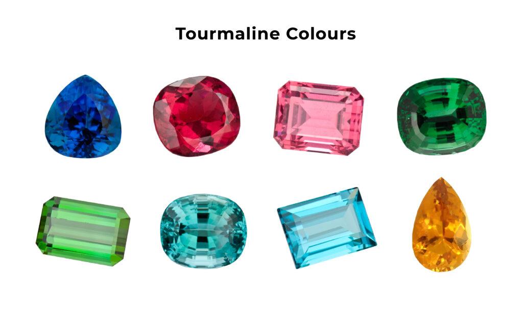 Tourmaline colours