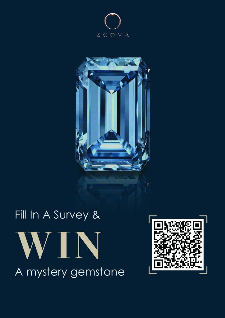 Johor Bahru ZCOVA Survey Contest to Win Mysterious Gemstone