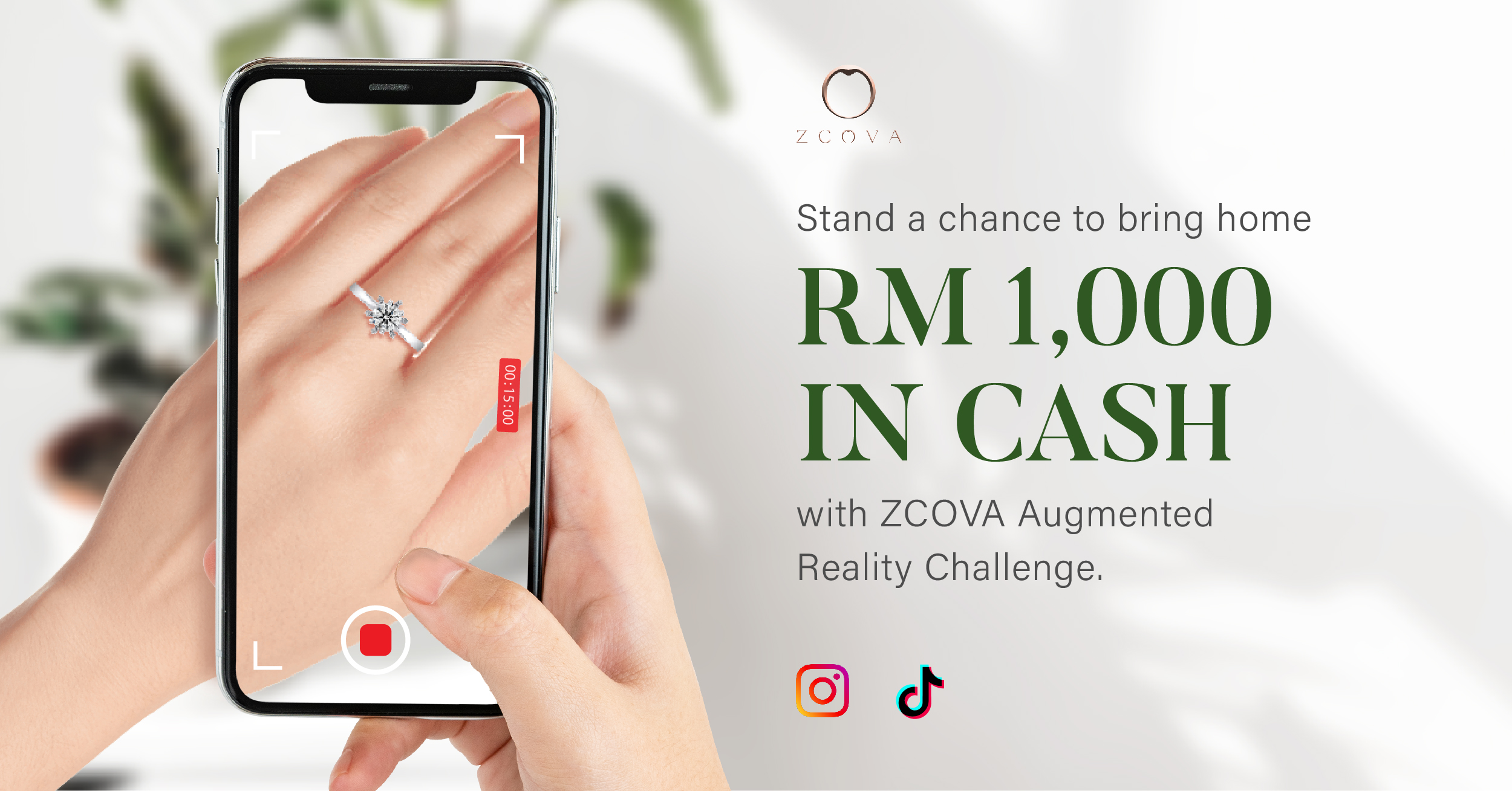 ZCOVA Augmented Reality Challenge To Win RM1000