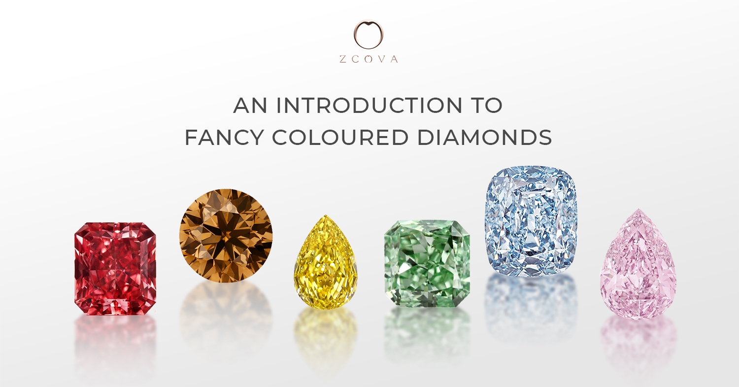 What are fancy coloured diamonds?, Introduction to fancy coloured diamonds
